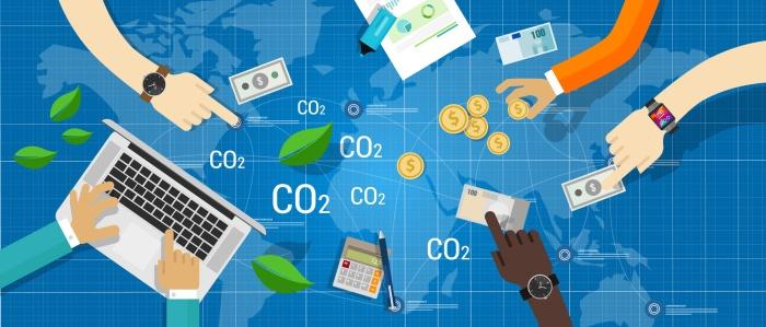 carbon trading emission market