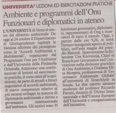 Nazione 14.10.2019-Corso UEF-UNEP